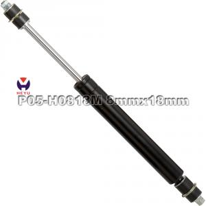 Gas spring with gynamic damping